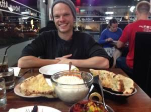 Indian Affair, April, 2014, Restaurant Review, The Flawed Guru