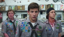 Scouts Guide To The Zombie Apocalypse, Film, Movie, Review, The Flawed Guru